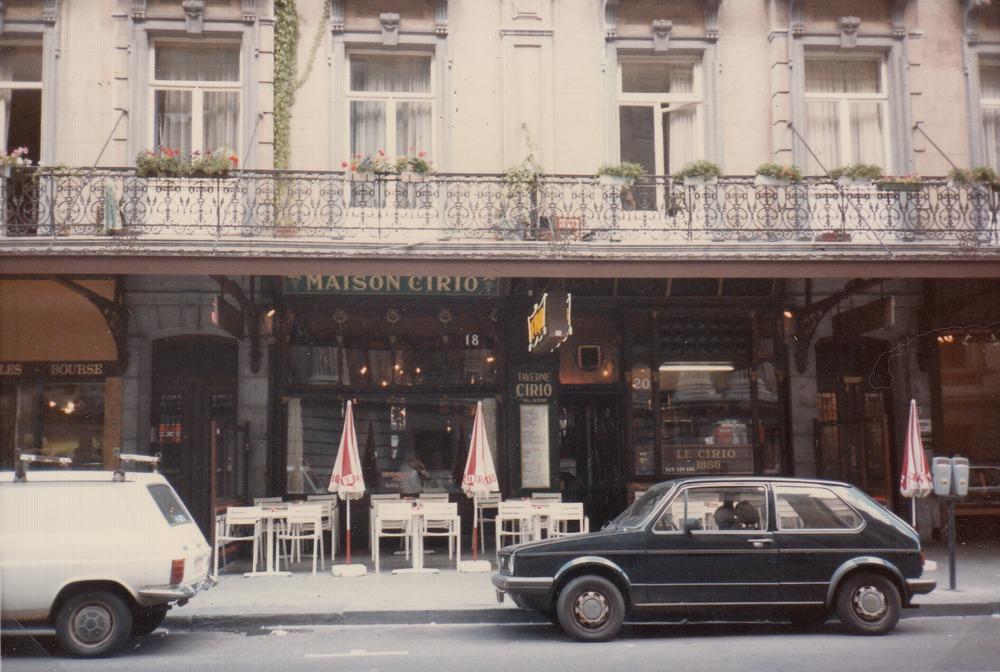 Café Cirio in Brussel