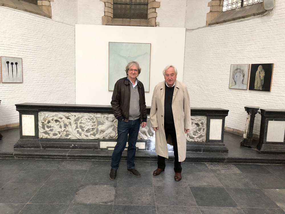 Jan Vanriet en Cees Nooteboom