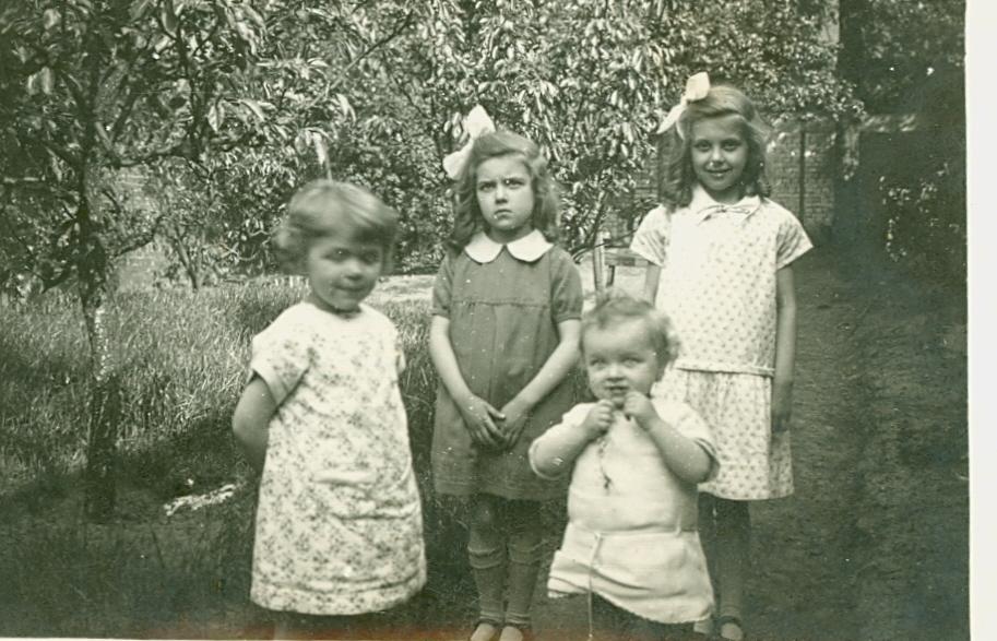 Christine D'haen Eerste Communie Elsa, 1932