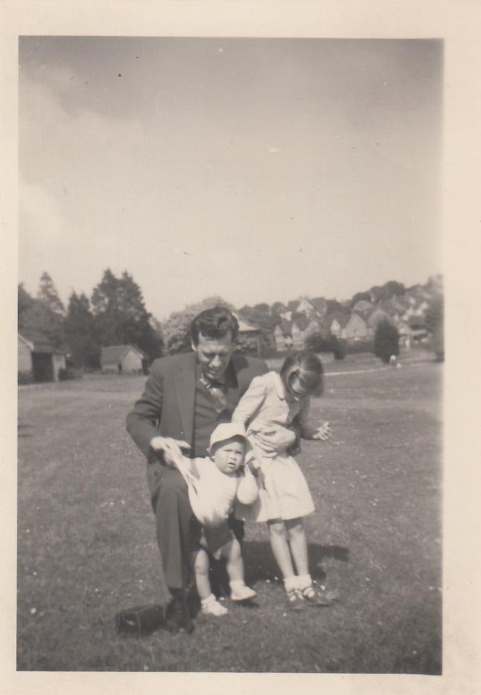 Willem Barnard met Benno en Renata