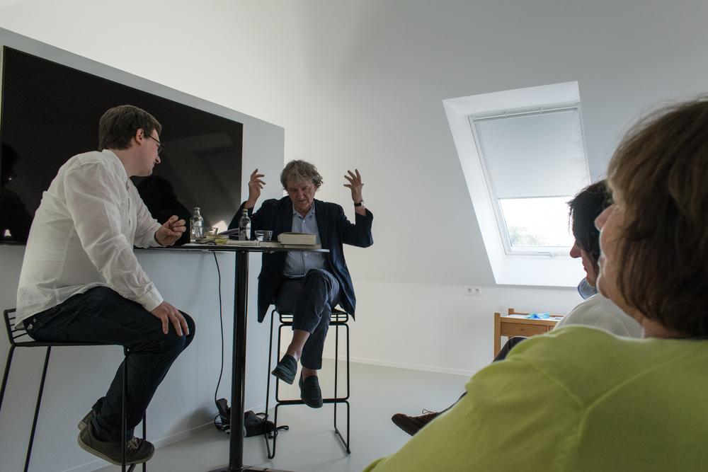 Jan Vanriet in gesprek met Carl de Strycker