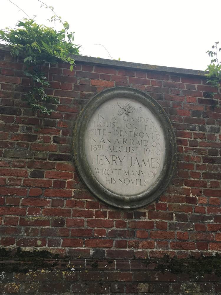 De woning van henry James in Rye