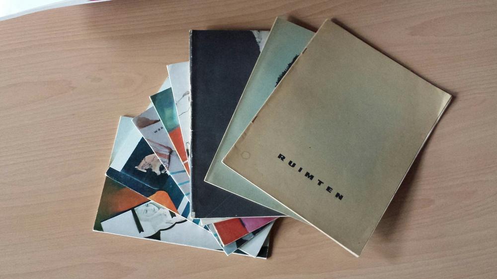 cover van het tijdschrift Ruimten (1961 - 1973)