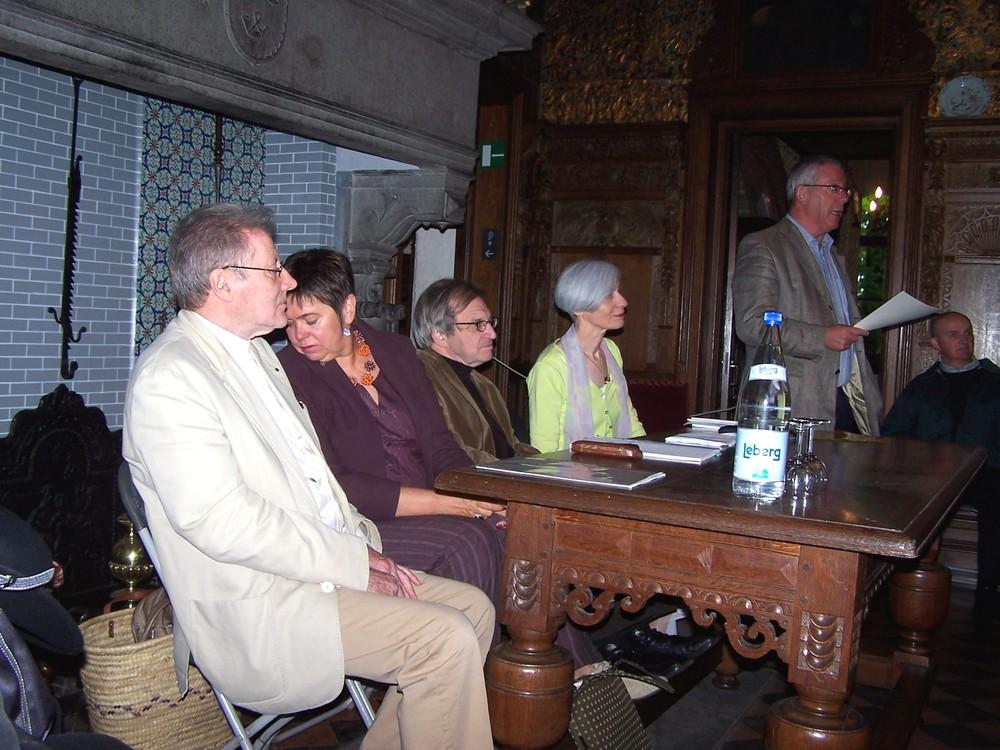 2006 a - Renaat Ramon, Lut de Block, Gwy Mandelinck, Hannah Kirsten, Jooris van Hulle.JPG