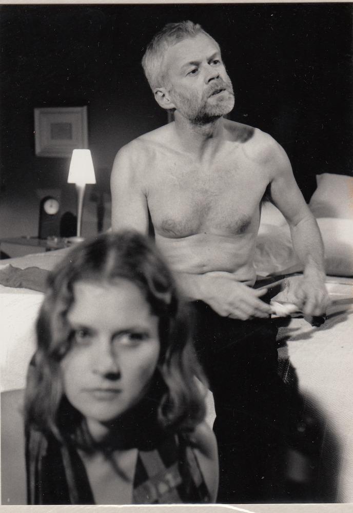 Bob De Moor en Christel Doomen in de serie <em>Over de liefde</em>