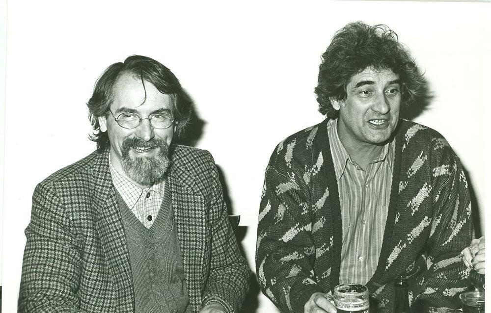 Stefaan van den Bremt en Paul Koeck in het PEN-bestuur