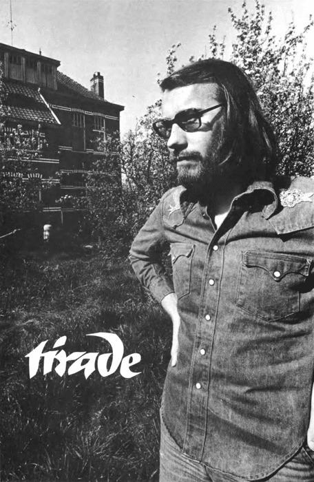 Kaft Tirade van het nummer 'In memoriam: Jan Emiel Daele'