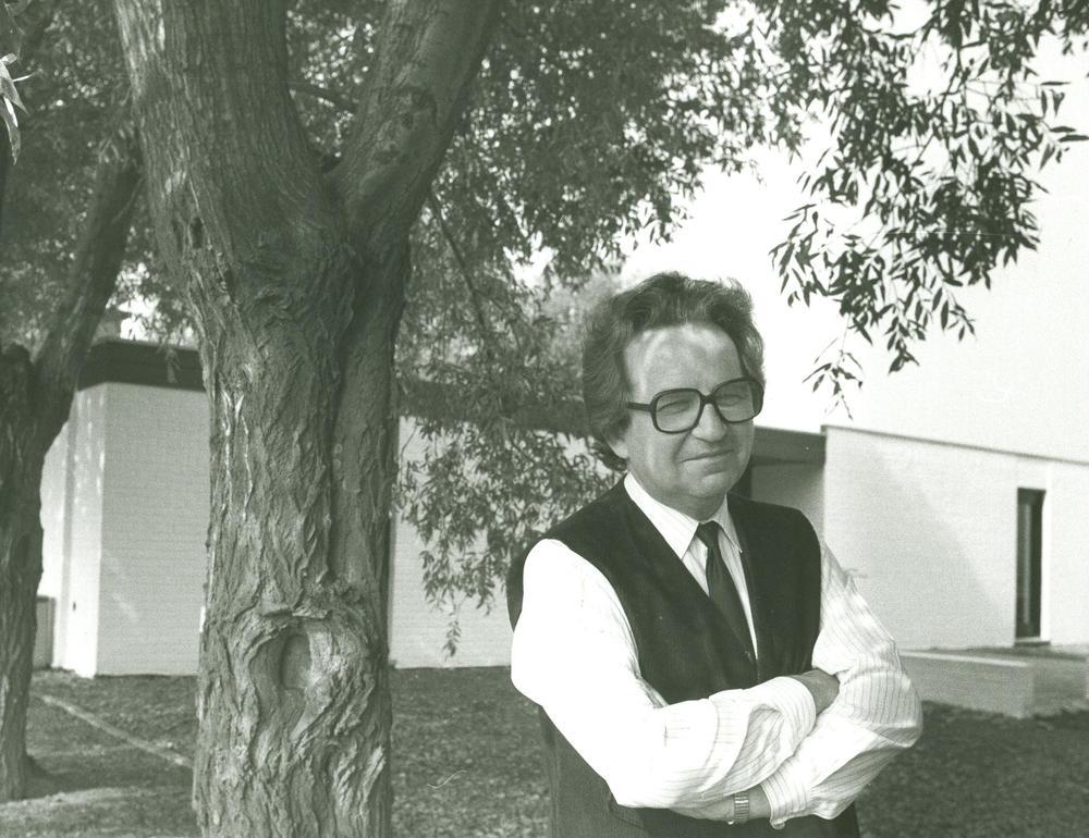 Jozef Deleu voor het Dialoogcentrum Ons Erfdeel
