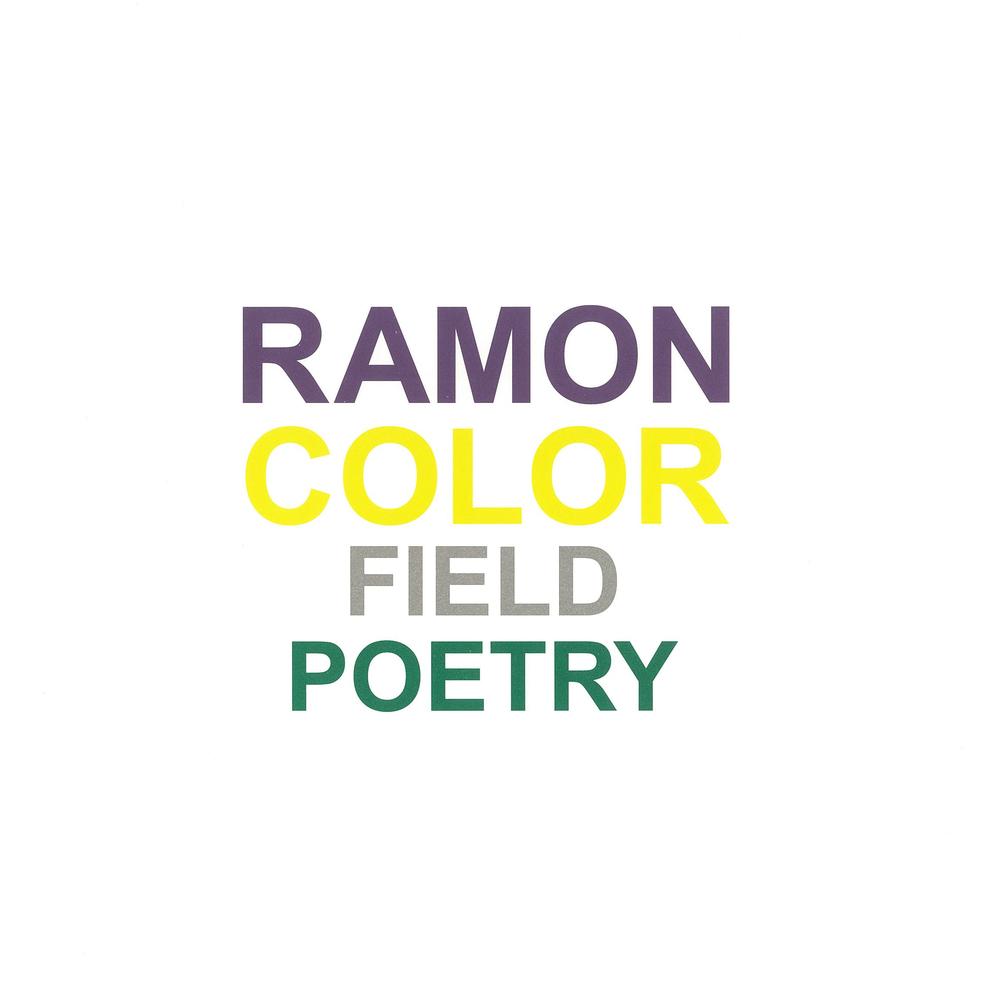 Color Field Poetry - Renaat Ramon