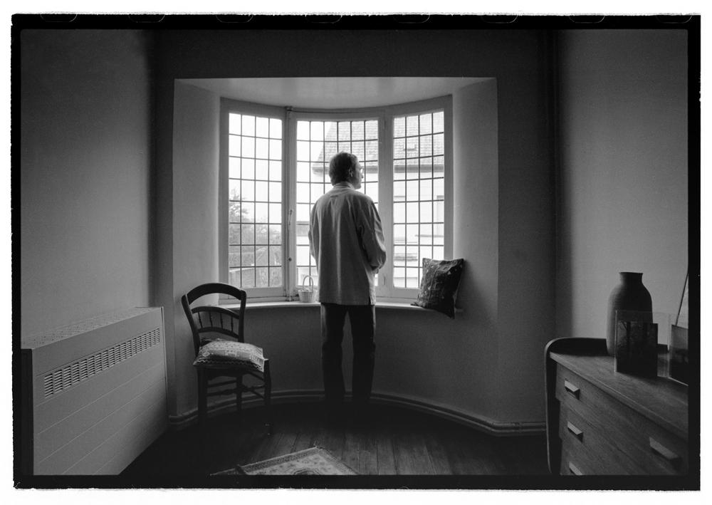 Luuk Gruwez in ouderlijk huis (voor De Morgen)