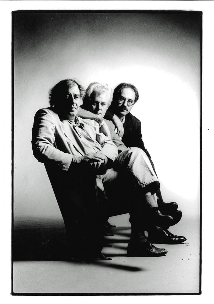 Benno Barnard, Jeroen Brouwers en Geert van Istendael© Dirk Leunis