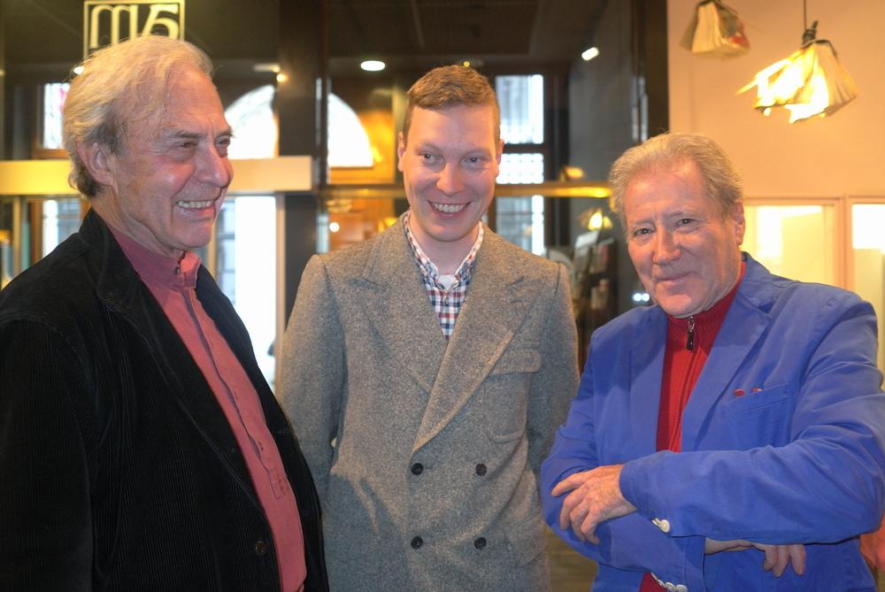 Renaat Ramon, Alain Arias-Misson en Jan de Vree