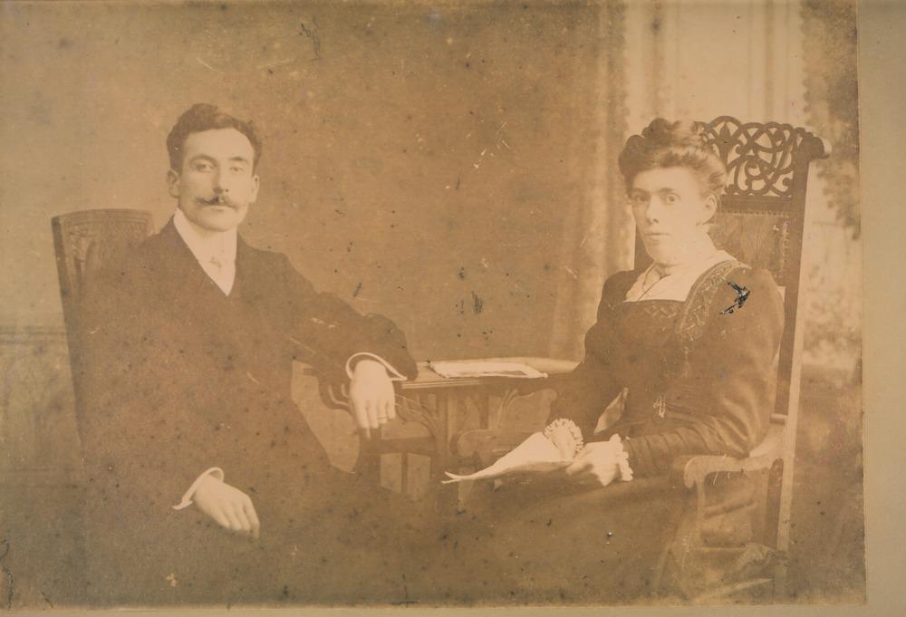 Hendrik Barnard en Jannetje Zuur / archief Barnard
