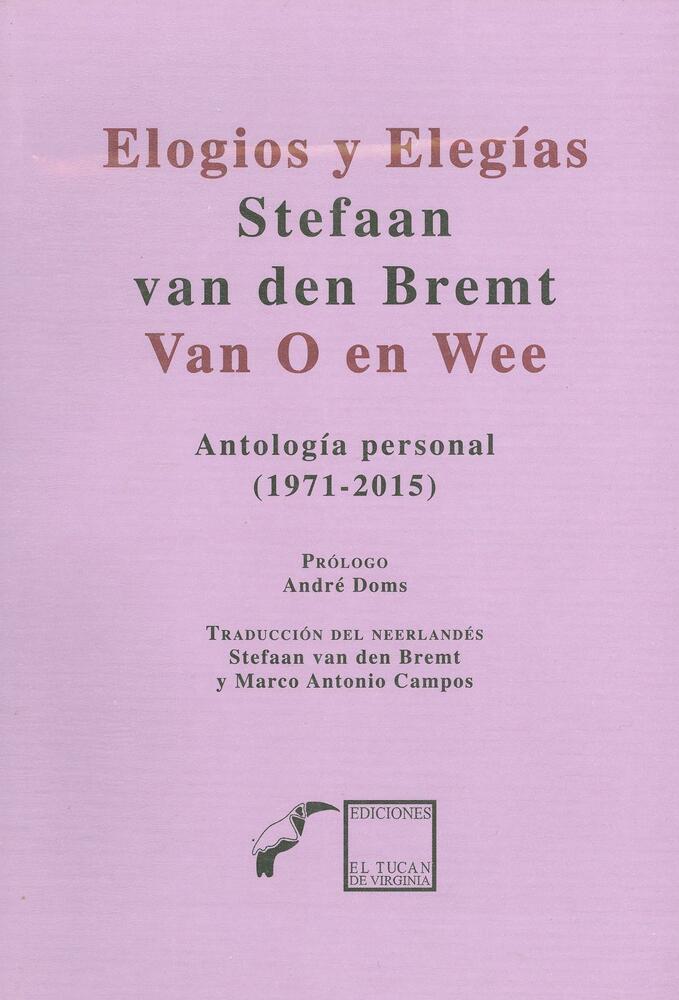 Covers van bundels met vertalingen uit het werk van Stefaan van den Bremt