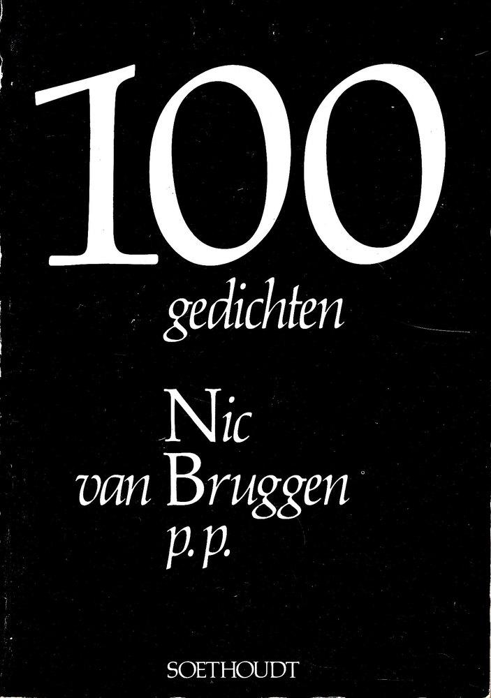 '100 gedichten' Nic van Bruggen