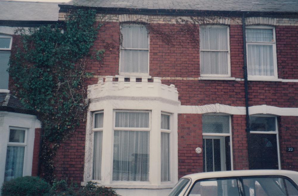 Het huis van de Barnards in Barry, 52 Clifton Street.
