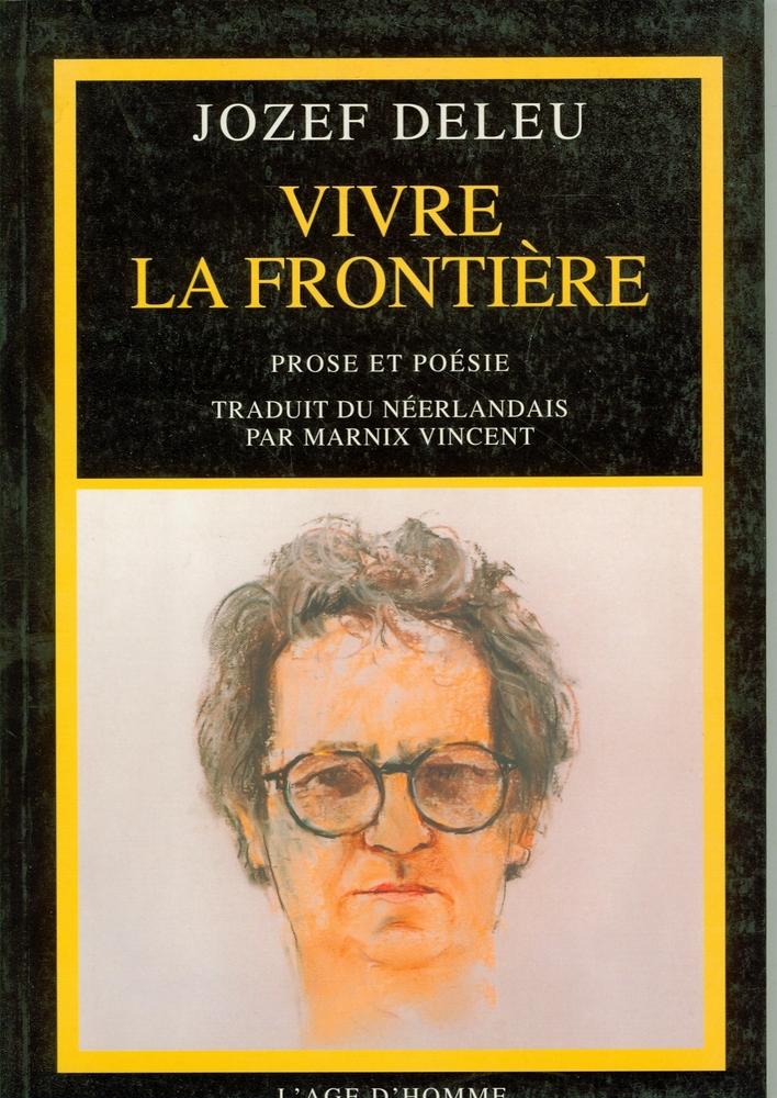 Cover Vivre la frontière - Jozef Deleu