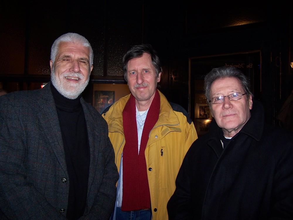 Klaus Peter Dencker, Gerrit Jan de Rook en Renaat Ramon