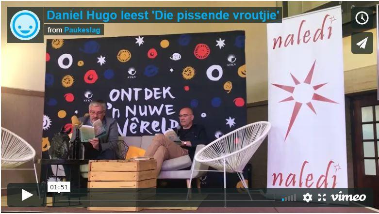 Daniel Hugo leest 'Die pissende vroutjie'