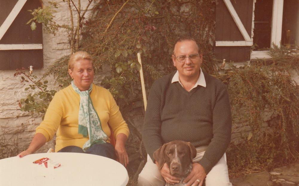 De ouders van Luuk Gruwez in de Ardennen