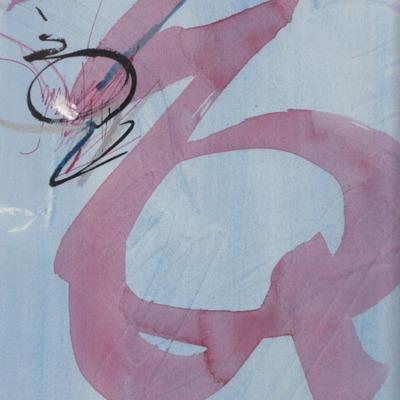 Schilderij / schets Nic van Bruggen