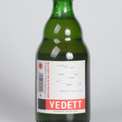 Bierfles 'Vlaamse Vedetten'