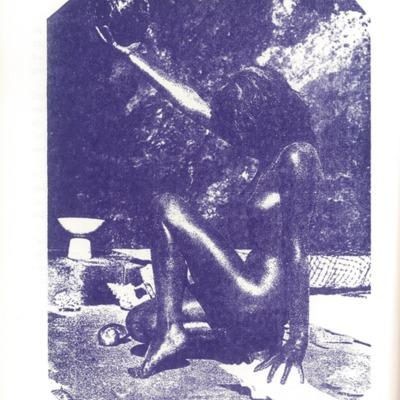 Creatieve uitspatting: collage vrouw met bal - daele 10