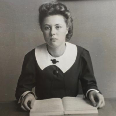 D'haen in de retorica, Sint-Bavo, 1941-42