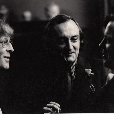 Pink Poets Ivo Michiels, Hugues C. Pernath en Nic van Bruggen