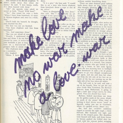 Creatieve uitspatting: make love no war, make a love war - daele 5/6