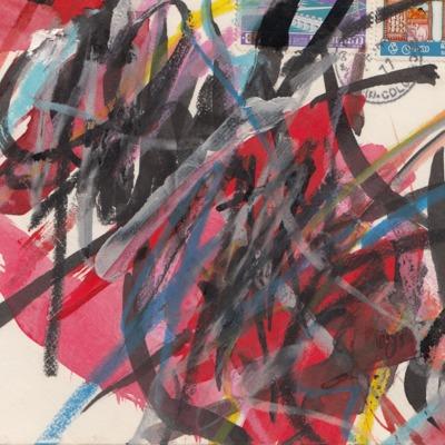 Beschilderde evenlop Nic van Bruggen.