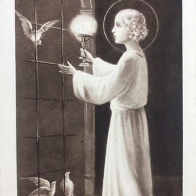 D'haen: Prentje Plechtige Communie en H. Vormsel, 1936